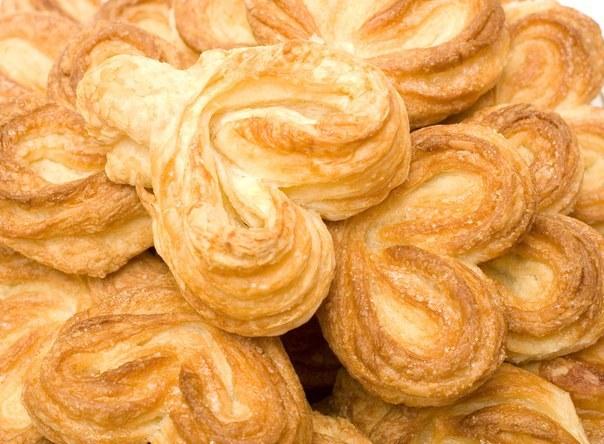 слоеное печенье на простокваше рецепт с фото