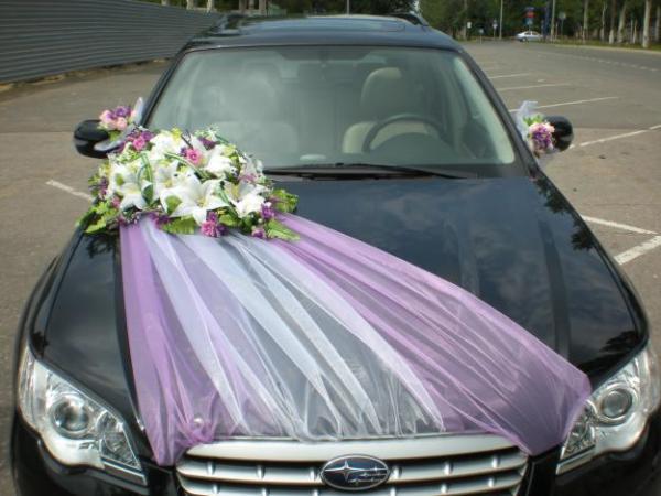 Купить украшения для свадьбы на машину