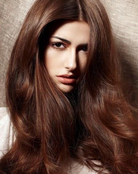 Светлый каштан шоколадный цвет волос фото