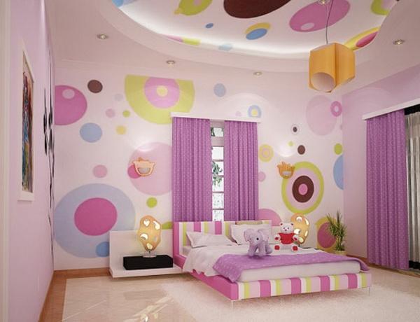 фото детская комната обои