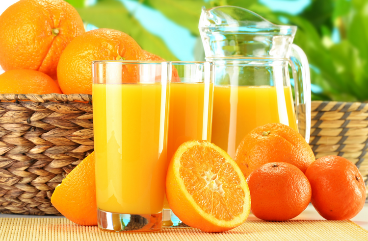 Как сделать фреш апельсиновый