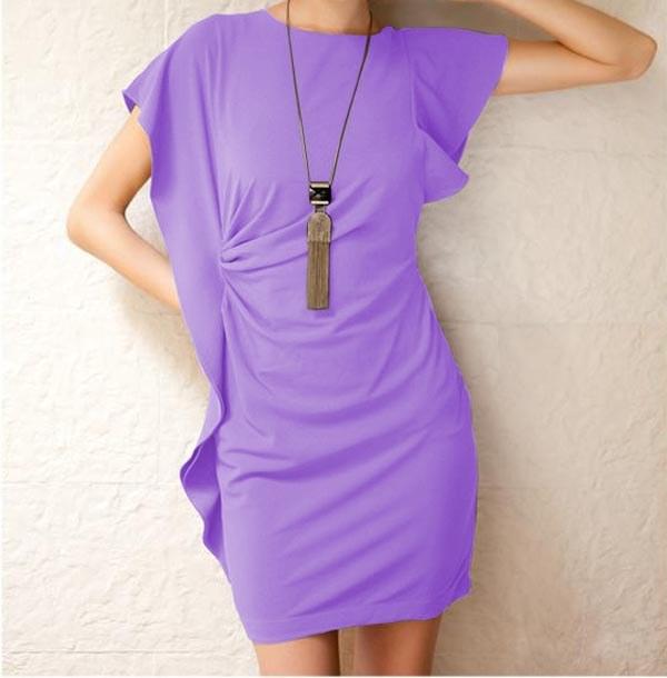 Юбка и платье из одного отреза ткани