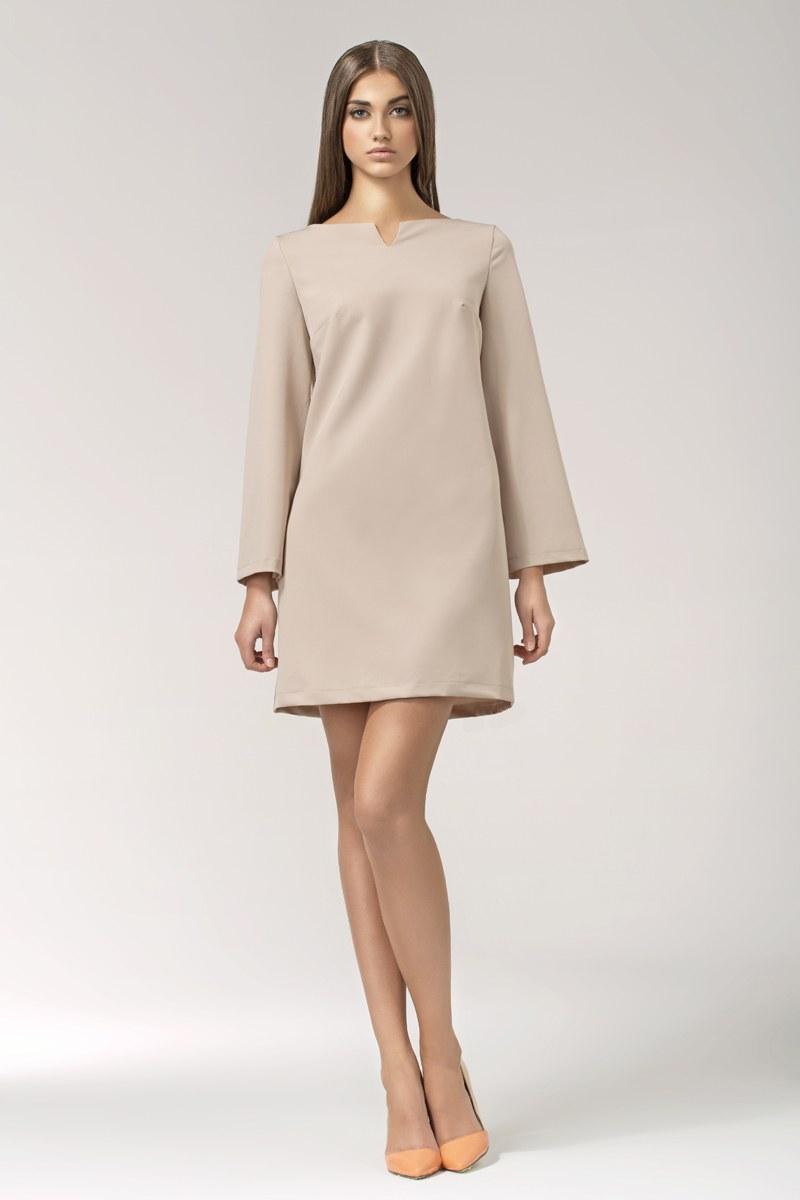 Модное свободное платье фото
