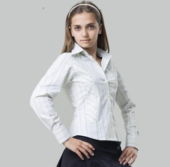 61b078aa9c4 Блузки для девочек в школу  виды и правила выбора 🚩 праздничные ...