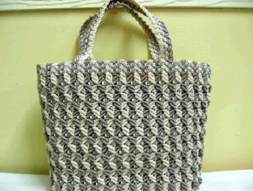 Искусство макраме: сумка