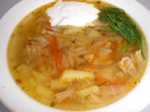 солянка из свежей капусты с курицей рецепт с фото