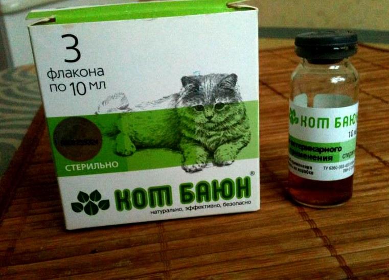 Как давать кошке кот баюн