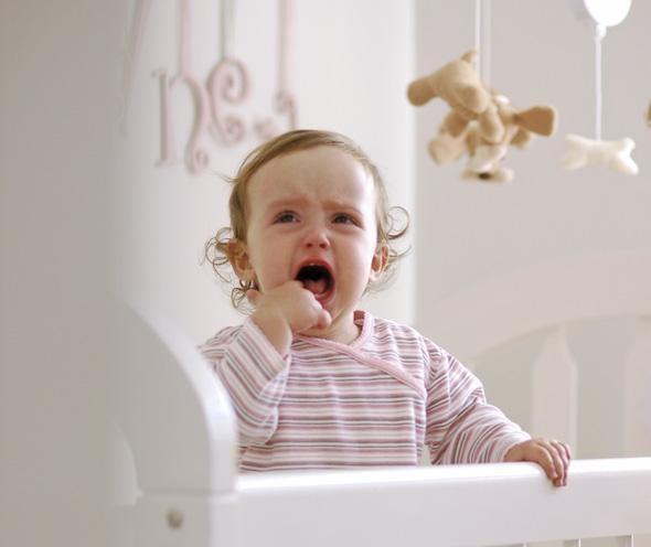 Перед сном капризничает ребенок