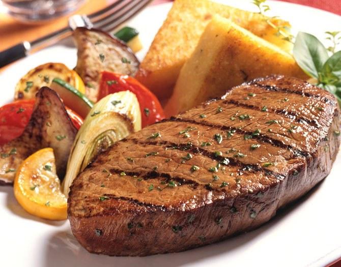 свиной стейк в духовке рецепт с фото