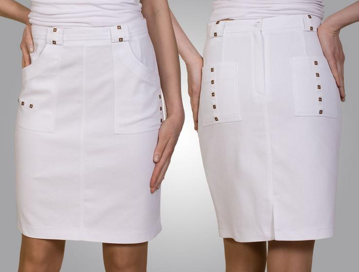 Как сшить прямую юбку если нет талии