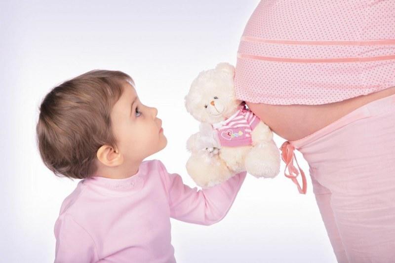 Во время беременности живот холодный