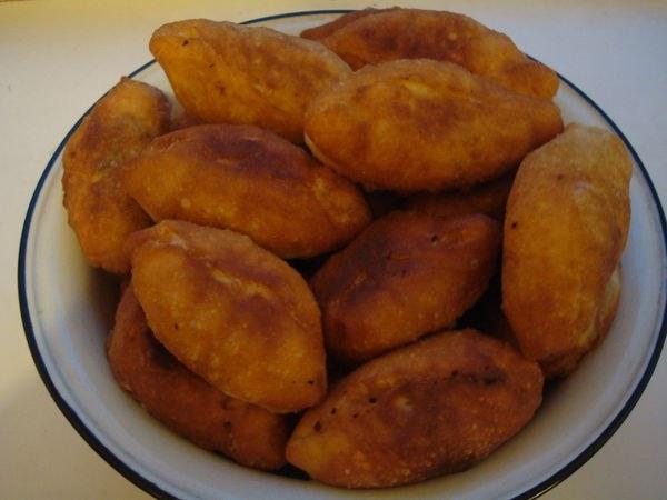 Пирожки с ливерной колбасой рецепт в духовке
