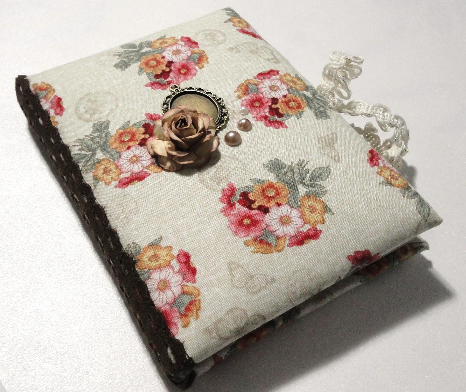 Блокнот своими руками из ткани фото 881