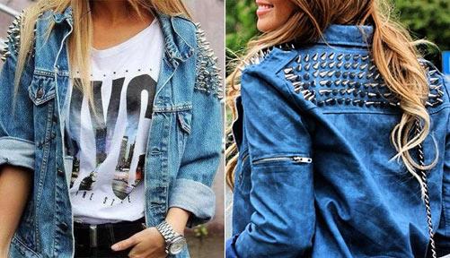 Как можно украсить куртку своими руками фото