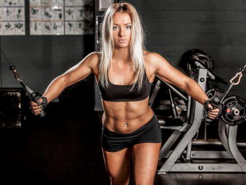 Силовые тренировки  упражнения для женщин для похудения 🚩 силовые ... dac7198c933