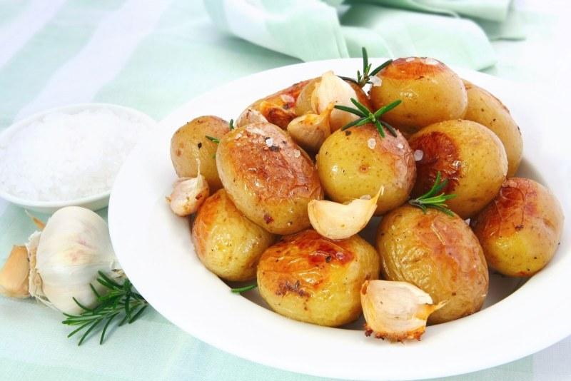 отварной картофель запеченный в духовке рецепт