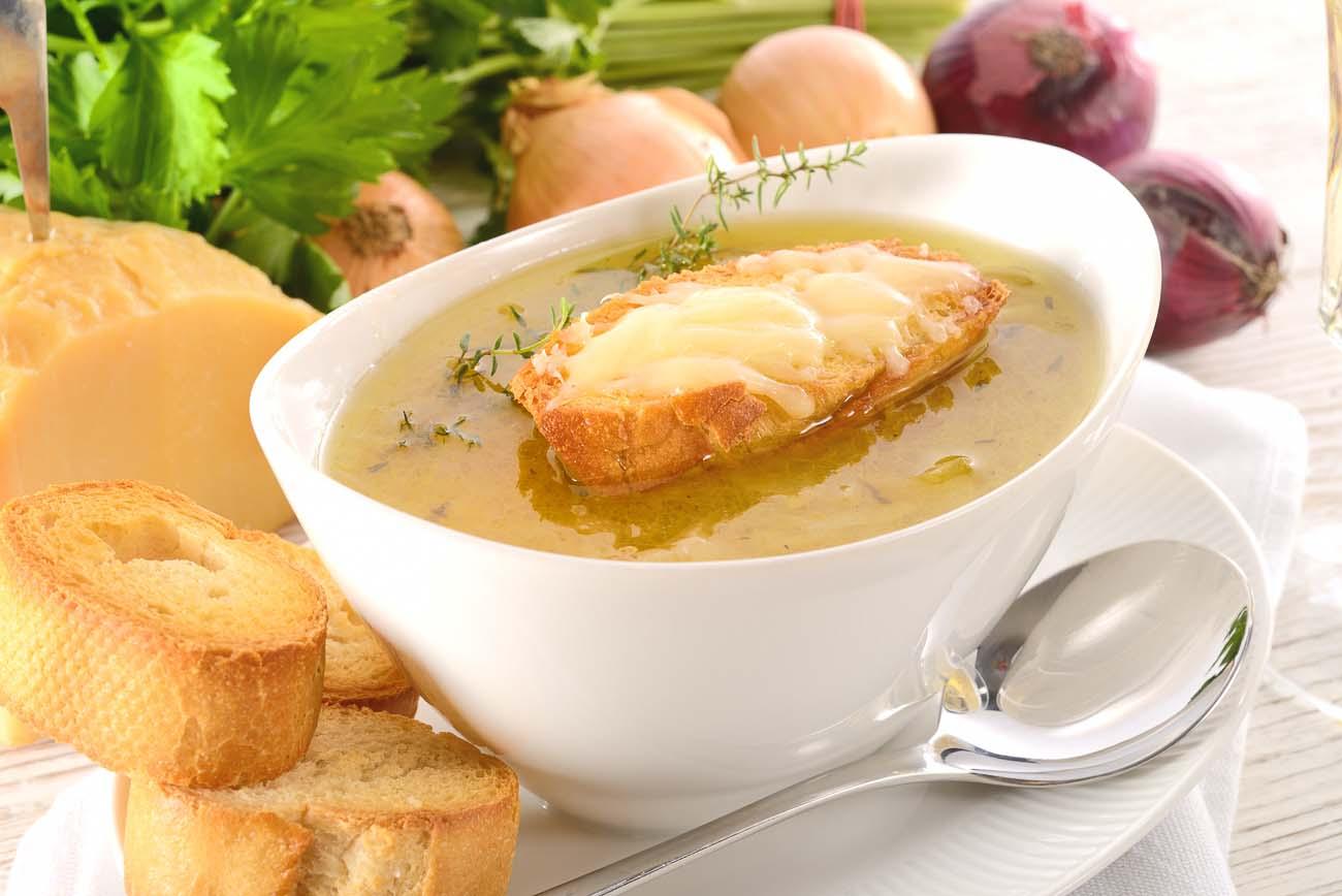 как приготовить суп по-французски