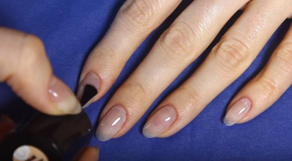 Подготовка ногтя к покрытию гель-лаком
