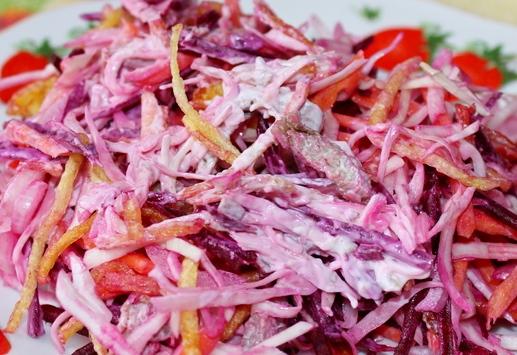 кулинарные рецепты салат французский