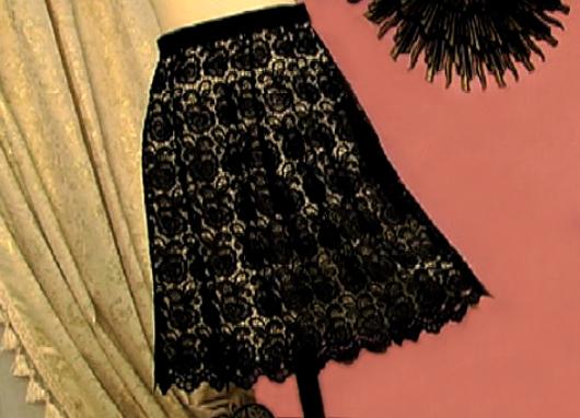 К шить кружевную юбку