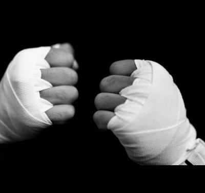 Как намотать боксерские бинты