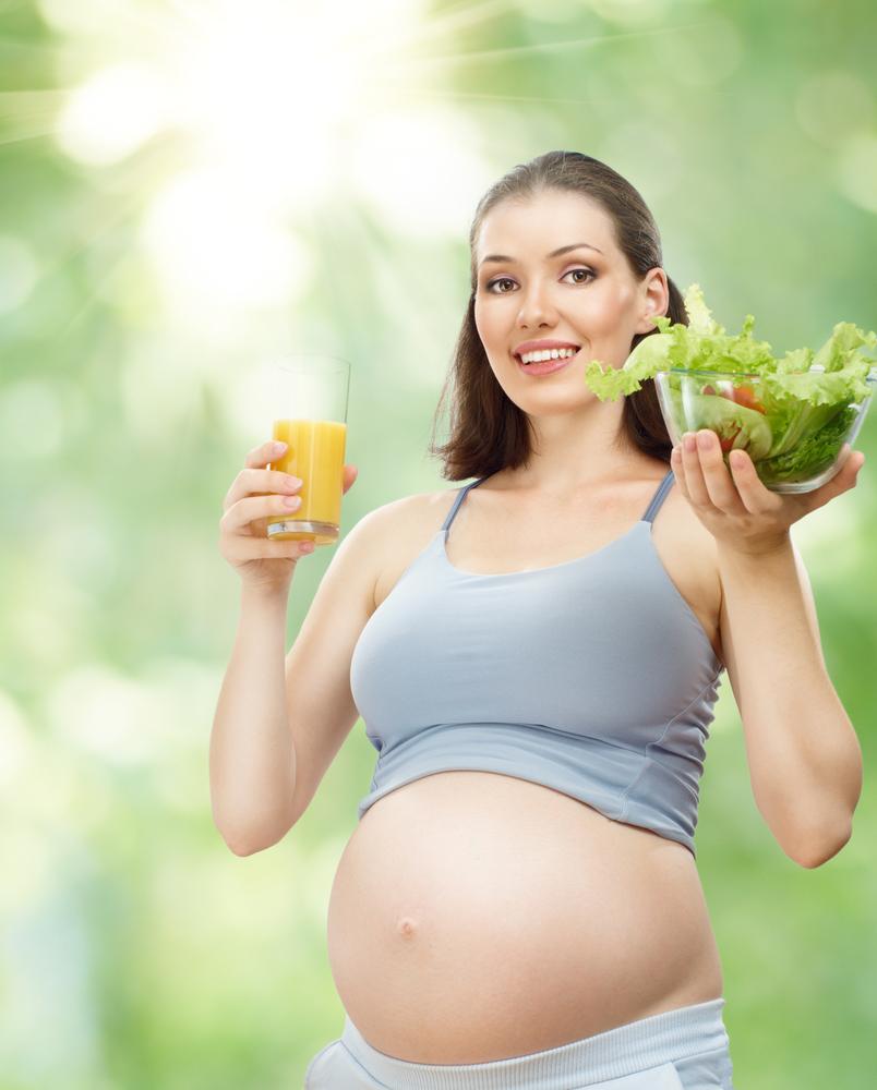 как похудеть беременным в домашних условиях