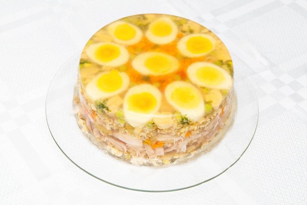 Холодец из куриных голеней с желатином рецепт