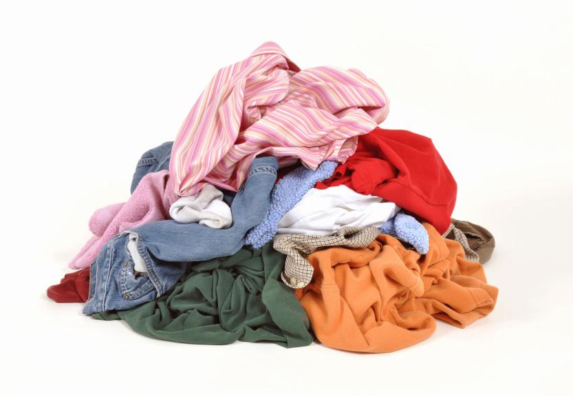 Как загрязнить одежду