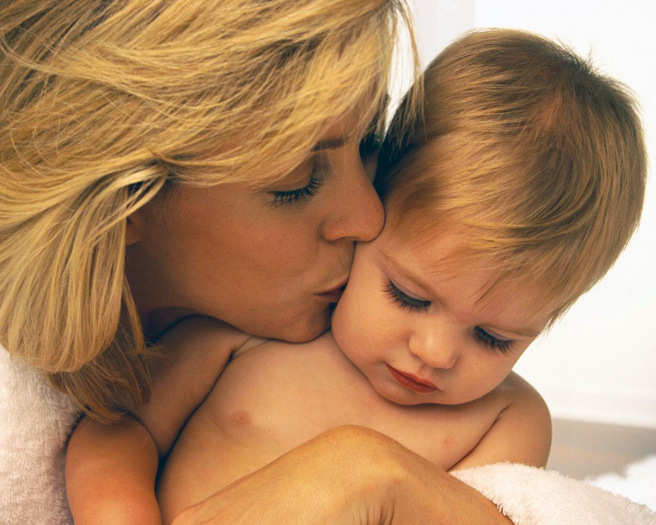 Картинки для детей о маме, началу