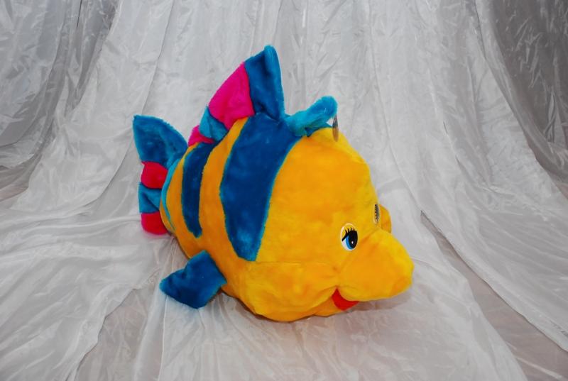 Как сделать игрушку рыбку