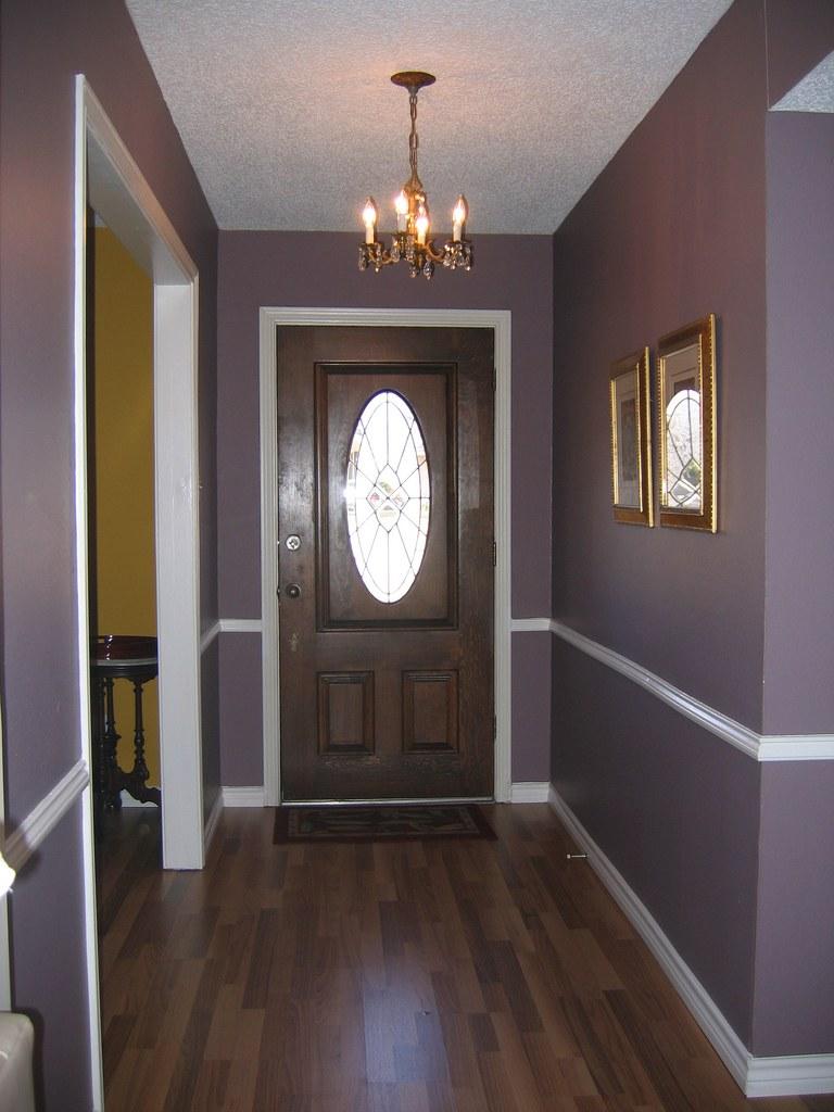 Дизайн двери и ламинат по цвету