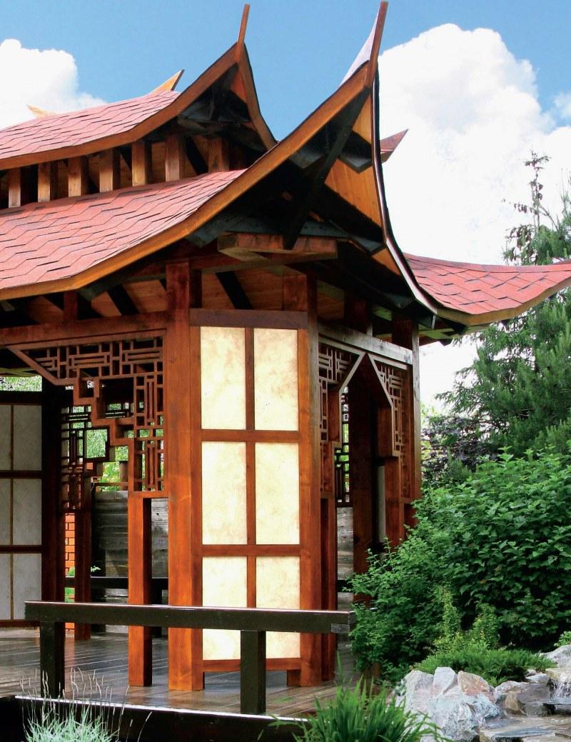 есть проекты китайских домиков фото этой статье