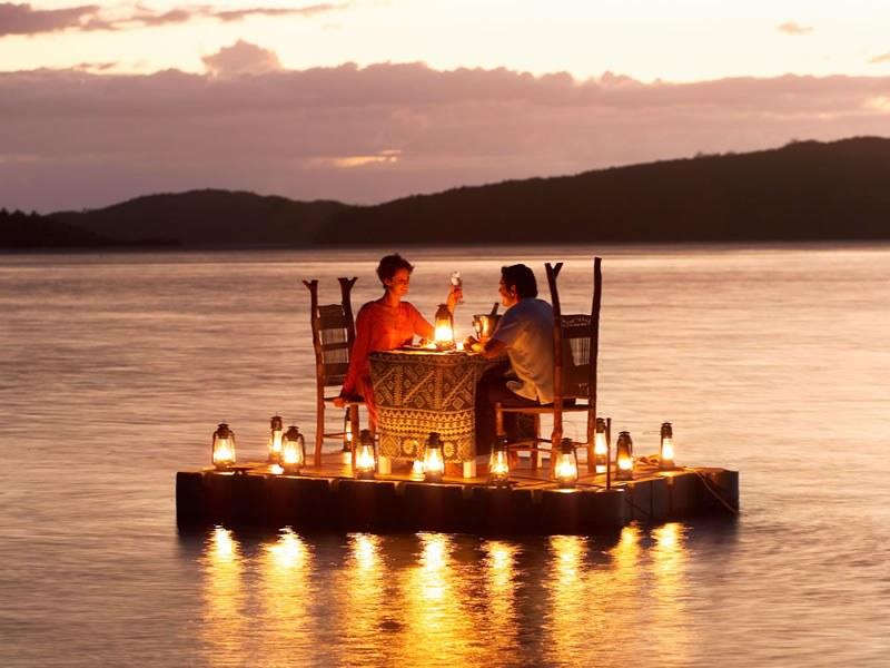 Где устроить романтическое свидание