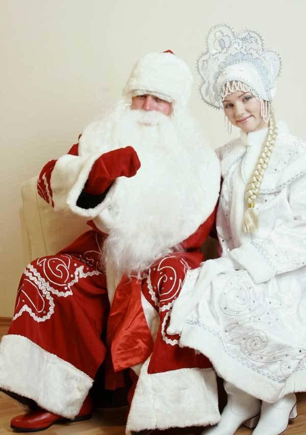 Дед мороз речь для детей