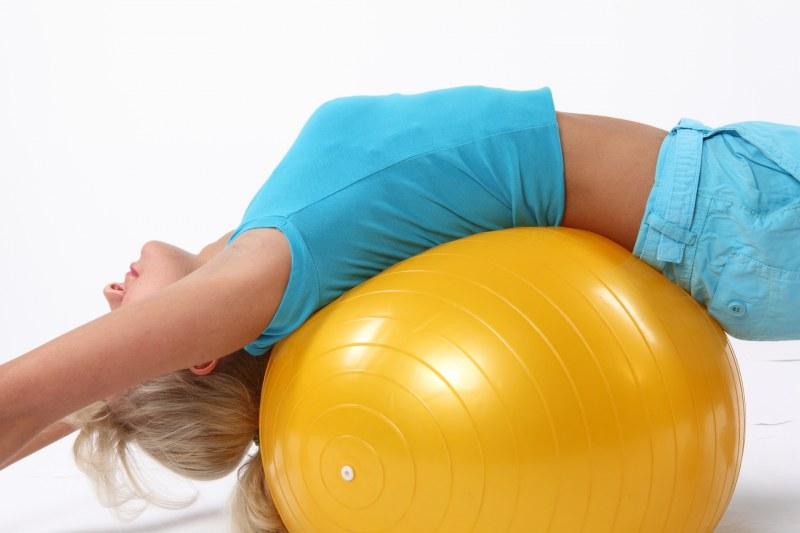 Как выбрать мяч для фитнеса