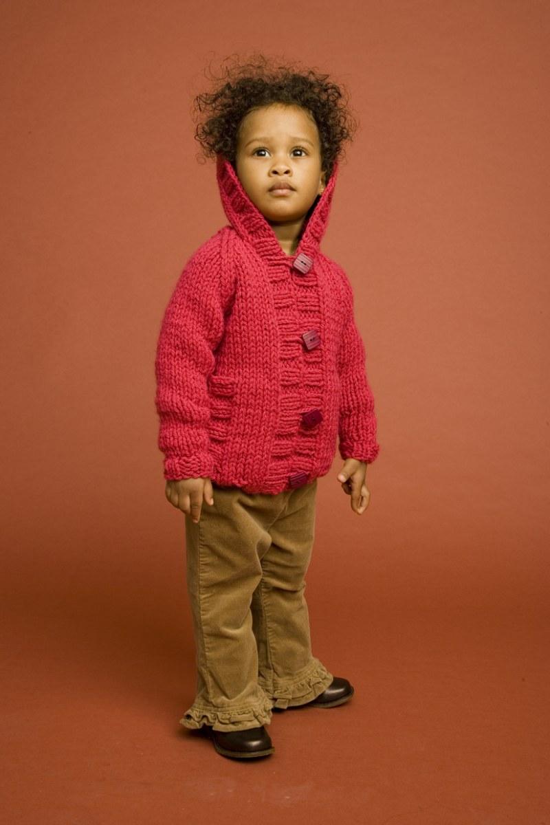 Как вязать свитера ребенку