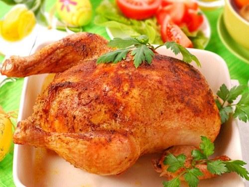 рецепты как приготовить вкусную курицу в духовке целиком