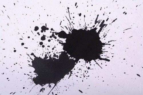Как удалить с обоев чернила от шариковой ручки