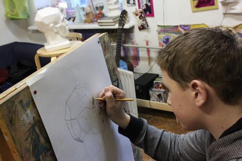 Рисование головы человека - Н. Н. Ростовцев 6 этап 48