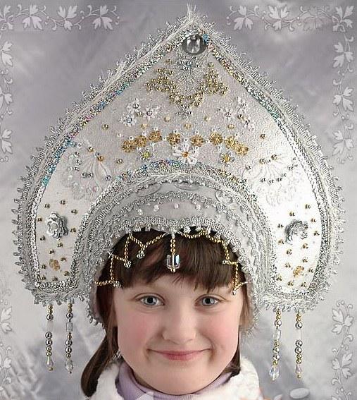 Сделать кокошник костюм русский своими руками