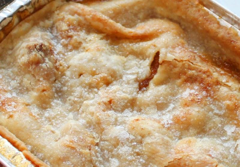 Как приготовить быстрый яблочный пирог?