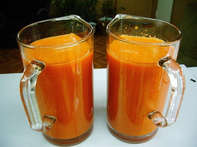 морковный сок от паразитов для ребенка