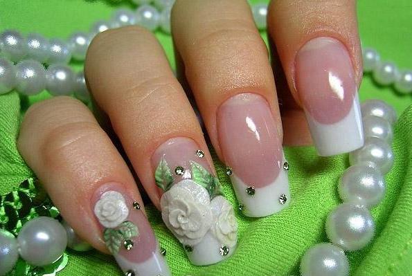 как наращивать ногти гелем на формы
