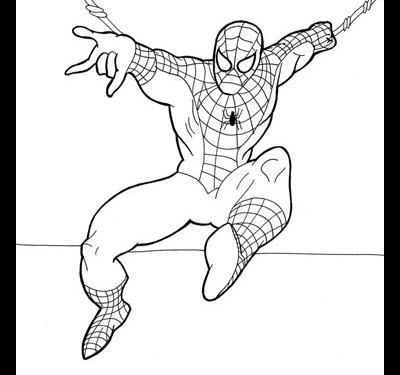 Как нарисовать Человека паука.