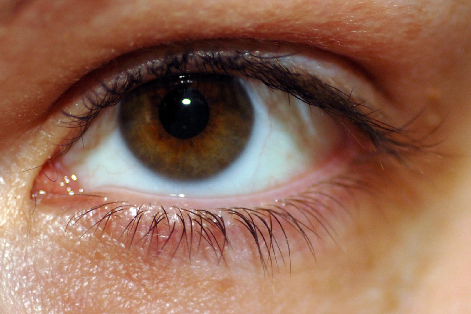 Как сделать карий цвет глаз