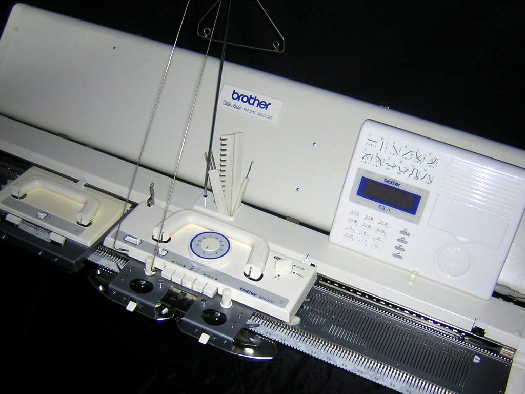 Вязание на вязальных машинах бразер видео