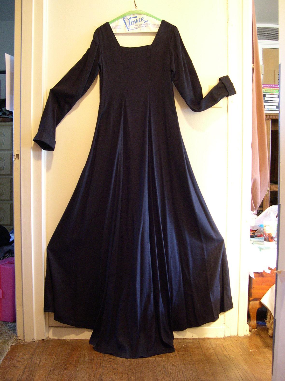 Новая юбка из старого платья как мы переделали мамины вещи