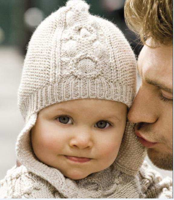 Вязание шапки девочке 2 года