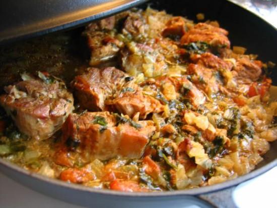 Мясо в горшочке пошаговое фото