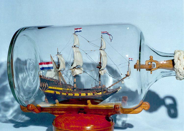 Кораблик В Бутылке Инструкция